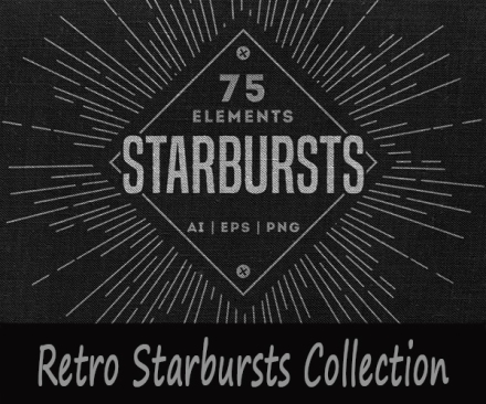 starbursts_vector_collection