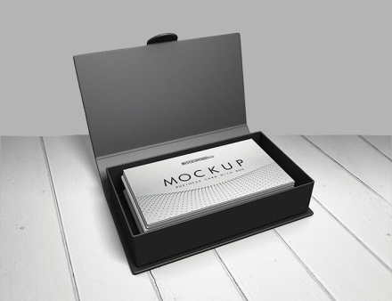 Creative business card design with box freebie graphic designs businesscardwithbox002 reheart Images